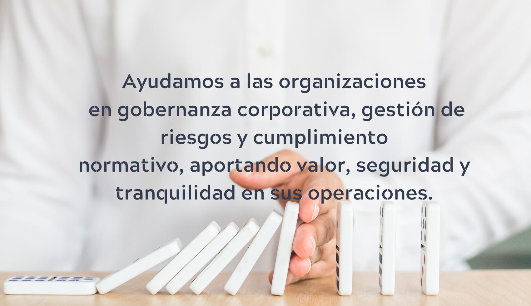 Abogados y consultores en gobernanza corporativa, riesgos y cumplimiento