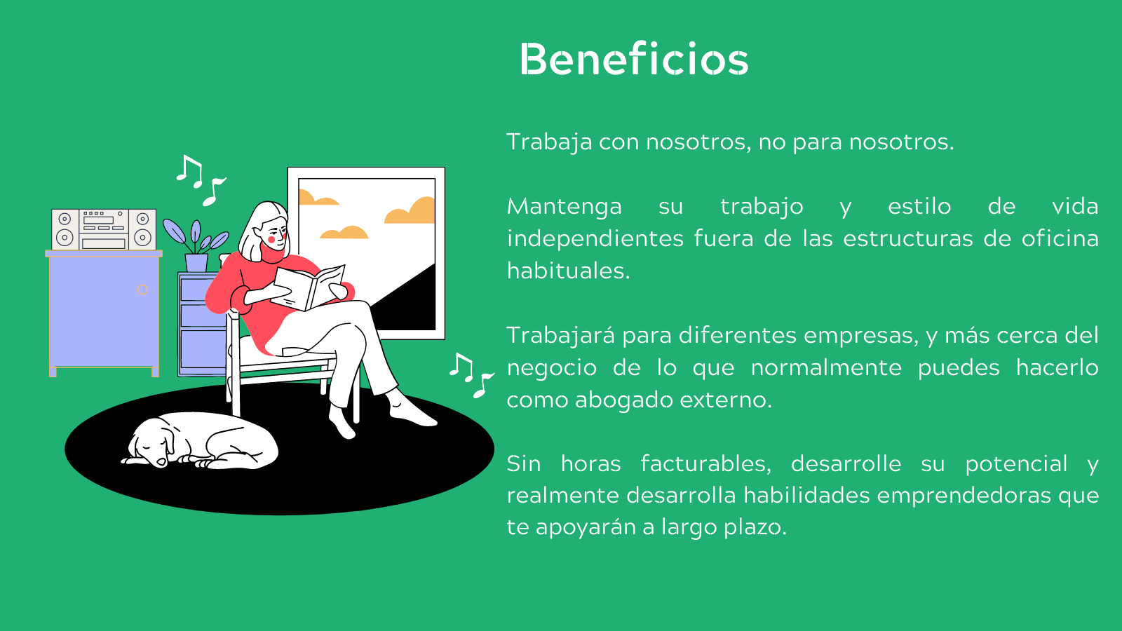Beneficios de venir a Mendo Legal